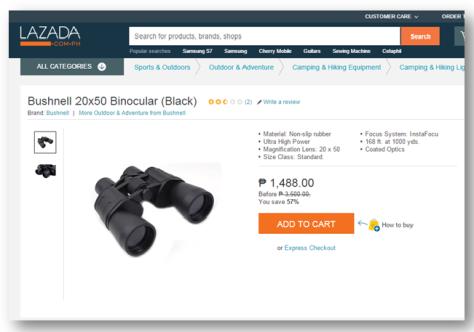 Lazada Binoculars