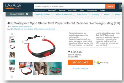 Lazada MP3
